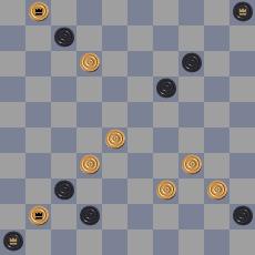 18 Чемпионат РБ по шашечной композиции. Стоклеточные шашки. 14619644706