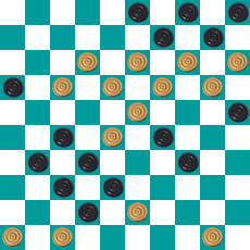 S.PEREPELKIN'S DRAUGHTS PROBLEM ART 14655148865