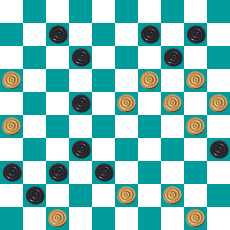 S.PEREPELKIN'S DRAUGHTS PROBLEM ART 14667221073