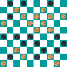 S.PEREPELKIN'S DRAUGHTS PROBLEM ART 14668918828