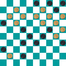 S.PEREPELKIN'S DRAUGHTS PROBLEM ART 14669810922