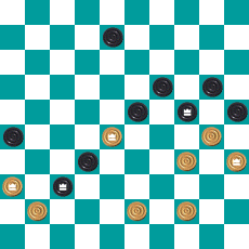 S.PEREPELKIN'S DRAUGHTS PROBLEM ART 14733574394